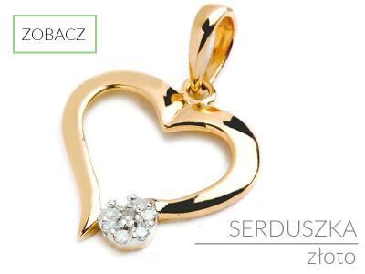 9b3b47c396ebf6 Złoty łańcuszek z serduszkiem - Dobry sklep internetowy z biżuterią ...
