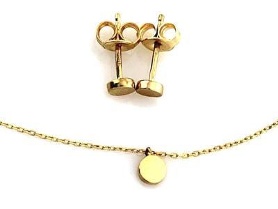 biżuteria ślubna złota