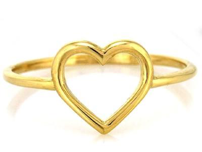 8e15c743cb70f4 Złoty Pierścionek Serce 333 Serduszko Dobry Sklep Internetowy Z